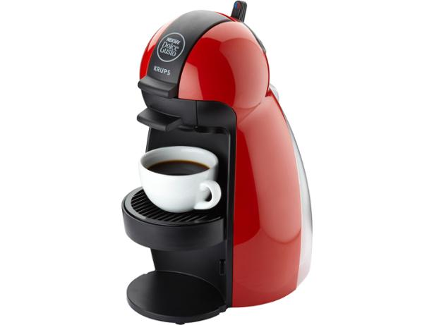 krups nescafe dolce gusto piccolo red coffee machine. Black Bedroom Furniture Sets. Home Design Ideas