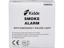Kidde i9080 Kidde Smoke Alarm with Emergency Escape Light