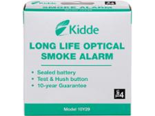 Kidde 10Y29 Long Life Optical Smoke Alarm
