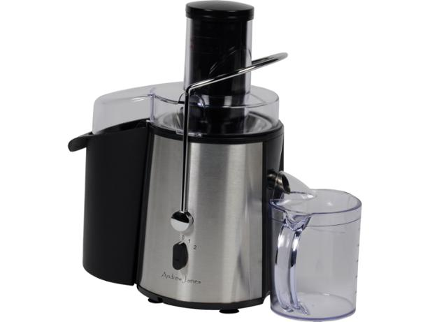 Andrew James Black Professional Masticating Slow Juicer : Andrew James Professional Whole Fruit Power juicer review - Which?