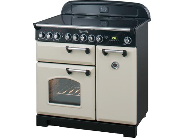 rangemaster classic deluxe 90 induction range cooker. Black Bedroom Furniture Sets. Home Design Ideas