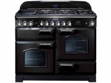 Rangemaster Classic Deluxe 110 FSD Dual Fuel Black