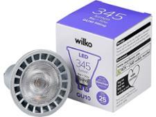 Wilko LED GU10 Dimmable 5W