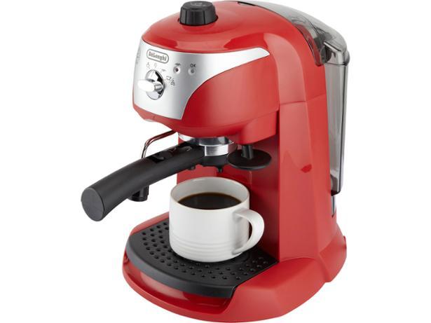 Barista Coffee Maker Job Description : DeLonghi Red Motivo Pump Espresso Cappuccino Coffee Machine Maker ECC220.R eBay