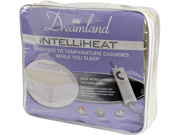 Dreamland Intelliheat Fleecy Heated Underblanket Electric