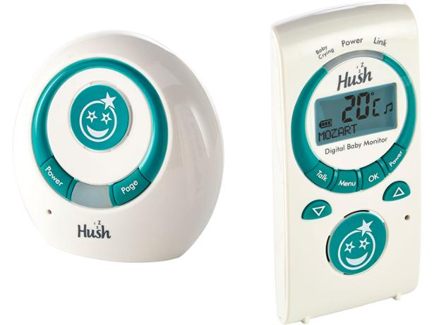 hush comfort plus digital 44890 baby monitor review which. Black Bedroom Furniture Sets. Home Design Ideas
