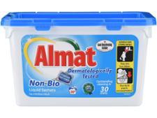 Aldi Almat Non-Bio Liquid Sachets