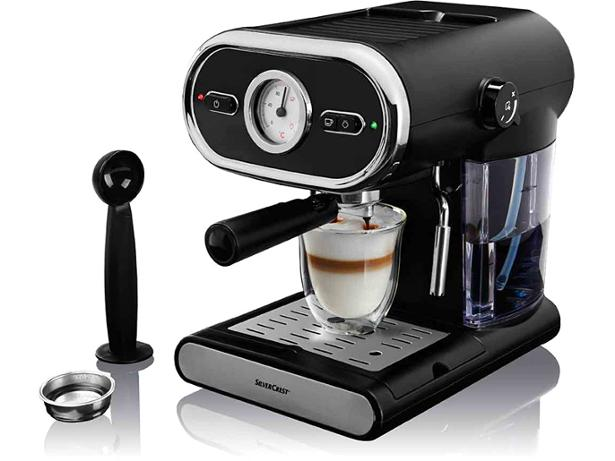Lidl Silvercrest Slow Juicer Reviews : Lidl Silvercrest Espresso machine coffee machine review - Which?