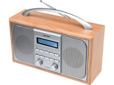 Bush Wooden DAB FM Radio