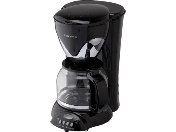 Argos Cookworks 909/8312 filter coffee machine summary - Which?