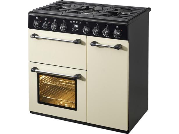 smeg blenheim 90cm dual fuel bm93p range cooker review. Black Bedroom Furniture Sets. Home Design Ideas