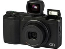 Ricoh GR with GV-2 viewfinder