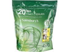 Sainsburys Bio Liquid Capsules