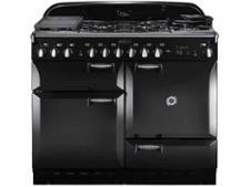 Rangemaster Elan 110 Dual Fuel Gloss Black
