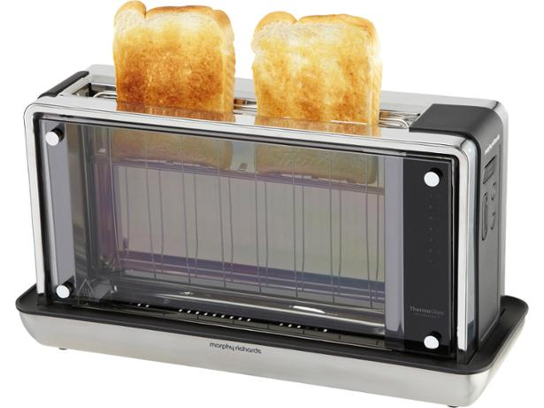 Morphy Richards ReDefine Glass 228000 toaster review - Which?