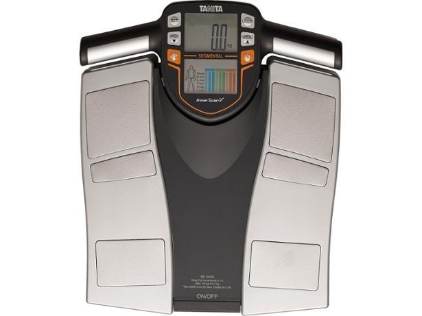 TV image   front view. Tanita BC 545N Segmental Body Composition Monitor bathroom scale