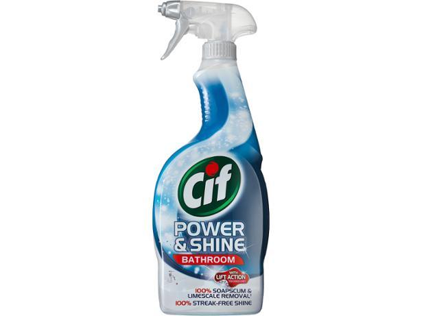 Cif Power Amp Shine Bathroom Spray Limescale Remover Review