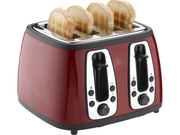 Matching Coffee Maker And Toaster : Russell Hobbs 18370 Heritage toaster summary - Which?