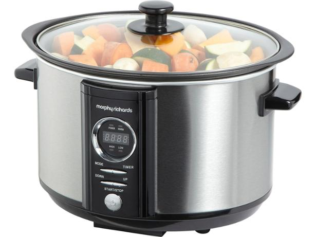 Morphy Richards Slow Juicer Review : Morphy Richards Digital Sear and Stew 460004 slow cooker review - Which?