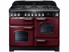 Rangemaster Classic Deluxe 110 FSD Dual Fuel Cranberry