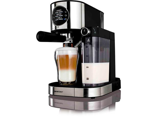 Coffee Maker From Lidl : Lidl Silvercrest Espresso Machine with Milk Frother coffee machine summary - Which?