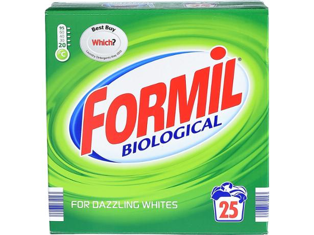 Lidl Formil Biological Powder. Lidl washing powder and laundry detergent reviews   Which