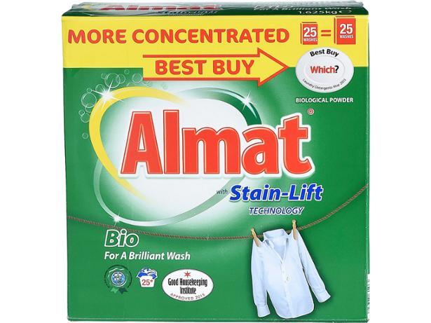 Aldi Almat Washing Powder With Stain Lift Washing Powder